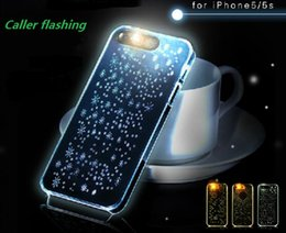 Wholesale - call flashing, iphone6, 6Plus, 4S, 5S, mobile phone shell, protective cover