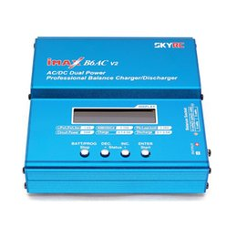 Wholesale SKYRC New iMAX B6AC V2 AC DC Dual Power RC Battery Professional Balance Charger Discharger for LiPo LiFe LiIon NiMH NiCd