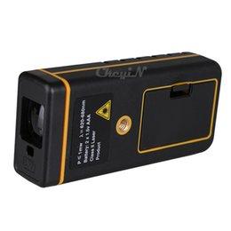Wholesale Digital Backlight LCD Display M FT Laser Distance Meter Range Finder Area Volume Measure Tape Lazer Rangefinder CJY09 P2224