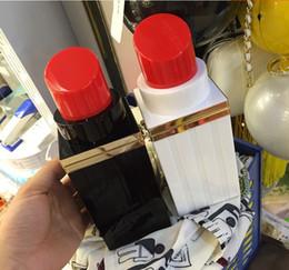 2017 NEW Clutch bags Evening bags Handbags Bridesmaid clutches Evening purses handbags Acrylic Retro lipstick box Evening Bags Wedding 1pcs