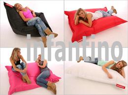 Wholesale 140CM X CM big size Adults bean bag seat waterproof beanbag chair Modern folding portable bean cushions