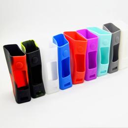 Evic vtc en Línea-EVIC VTC Mini Funda de silicona caja estuche protector nueva manga antideslizante e-cigarrillo de silicona caso de la variedad de la garantía de colores Calidad DHL
