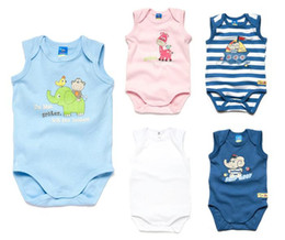 Wholesale Germany Brand Topolino Summer newborn organic cotton soft cute boy girl One piece baby bodysuits jumpsuit clothes