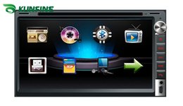 6.95 inch touch screen 2 Din Car DVD player with audio Radio stereo FM USB SD Bluetooth TV without GPS KF-V3024