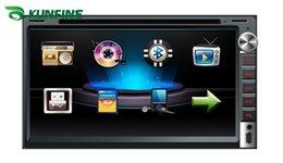 2017 tuner audio vidéo 6,95 pouces écran tactile 2 din voiture lecteur DVD avec audio radio stéréo FM USB SD Bluetooth TV sans GPS KF-V3024 tuner audio vidéo offres