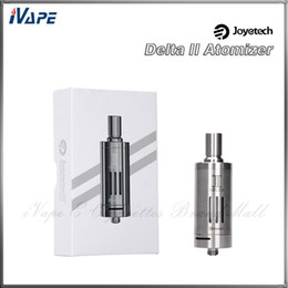 Wholesale Joyetech Delta II Atomizer Kit ml with ohm Liquid Valve Control LVC Head on Sub ohm Coil Joyetech Delta Adjustable Clearomizer Kit