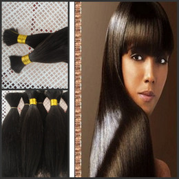 Brading hair bulk ,New coming human hair products G-EASY natural straight hair