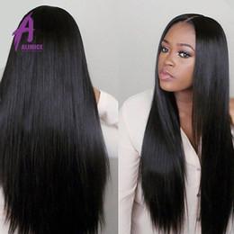 7A Unprocessed Virgin Brazilian Straight Hair 3 Bundles Natural Black Human Hair Extensions Brazilian Peruvian Malaysia Virgin Hair Straight
