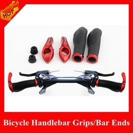 Wholesale NEW Arrival Upgrade Lockable BMX Grips Outdoor Sports Cycling Bicycle Handlebar Grips Ergonomic MTB Bar Ends Cycling Parts