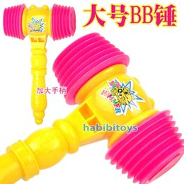 Wholesale bb hammer toy Toy bb hammer impact hammer whisted belt plastic hammer baby
