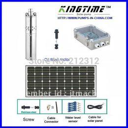 Wholesale water solar system panel solar submersible pump solar years warranty Model No JS4