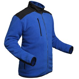 Fall-NEW 2015 Wolf Brand Fleece Soft shell Jacket for Mens Outdoor Sports Fashion Zipped Body warmer Fleece Jackets Man Outerwear