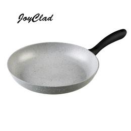 Wholesale Mármol sartén calor aislado manija piedra libre de PFOA revestido antiadherente para freír utensilios de cocina de cocina sartén
