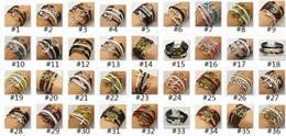 2015 NEW DIY Charm Jewelry fashion Leather Cute Infinity Bracelets Silver pick style Leather Bracelets