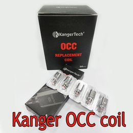 OCC Coils upgrade Vertical Coils for Subtank Organic Cotton Coil OCC Replacement Coils For Subtank nano Plus Free Shipping