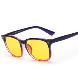 Wholesale Factory direct anti blue glasses Korean big box radiation glasses computer mirror glasses for men and women H8082 HOT CPS