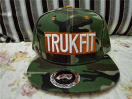 2016 New Camouflage baseball caps Trukfit Snapbacks Adjustable Hat Wholesale Men and Women Cap cotton Hip-hop Hat free ship
