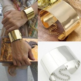 Wholesale 2015 Newest K gold silver Personalized punk Metal Bangle bracelet girls fashion jewelry vintage cuff bracelets for women bangles SPB