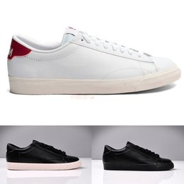 Wholesale new arrival men women couple solid black white low classic fashion ac premium casual sports sneakers shoes