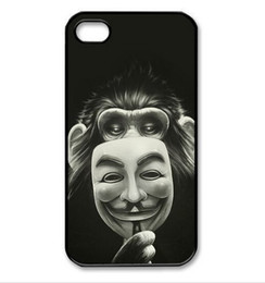 Chimpanze Anonymous cell phone case for iPhone 4s 5s 5c 6 6s Plus ipod touch 4 5 6 Samsung Galaxy s2 s3 s4 s5 mini s6 edge plus Note 2 3 4 5