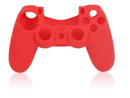 Contrôleur ps4 couvercle du boîtier en Ligne-Pour la PS4 Nouveau Silicone Souple housse de Protection de Cas de Couverture de Peau pour PlayStation 4 PS4 Xbox un Contrôleur d'usine