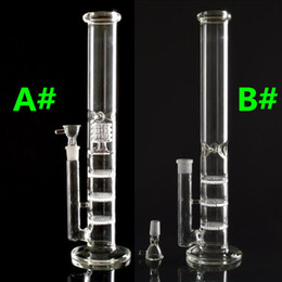 Oil Rig Water Pipe Glass Bong Brand Layer Honeycomb Tablets Filter Bongs Recycler Hookahs For Smoking 2016