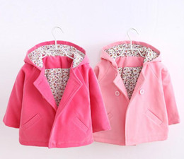 New Girls Coat Children Fashion Outerwear Kids Autumn Jacket Girl Fashion Clothes
