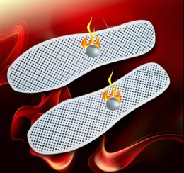 Wholesale Nano tourmaline self heating magnetic therapy insole warm shoes pad bio magnetic Massage insoles Comfortable insoles in winter