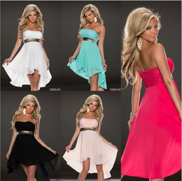 Sexy Strapless Backless Chiffon Dresses Evening for women Sequins contrast color Dovetail long Dress Prom Party S M L XL XXL