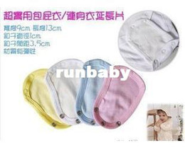 Wholesale Baby Clothes Extender Onesie Extender Apparel pajamas Romper Connector Extendband