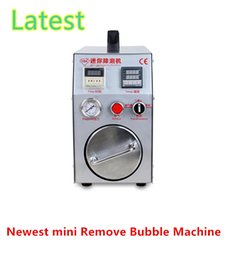 Wholesale TBK Portable mini AutoClave OCA air Remove bubbles machine Built in air compressor for repair refurbish mobile LCD