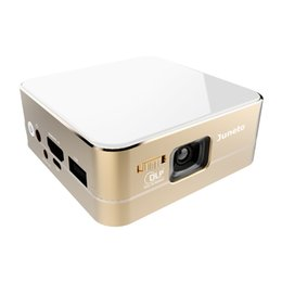 Wholesale Smart Projector DLP for Android Apple Phones Miracast Airplay Wireless Wifi Bluetooth Function Home Theater TV Android