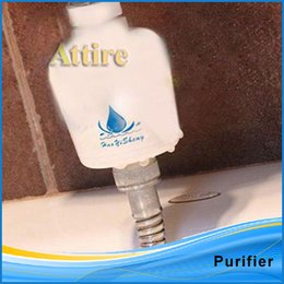 Wholesale Kitchen Water Tap Clean Softener Remove Home Shower Faucet Filter Purifier Head Attire
