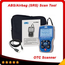 Wholesale OBD2 Code Reader OTC OBDII CAN ABS Airbag SRS Scan Tool OBD EOBD Code Reader DHL free