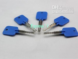Try-out key for Cross Lock, With 5 pcs in a set, locksmith tools, lock pick H296 A2