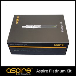 Wholesale - In Stock Aspire Platinum Kit With Aspire Atlantis Tank And 2000mah Aspire SUB OHM Battery high quality 100% Original