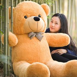 """Ours saint valentin cadeau géant à vendre-Brand New 6 PIEDS TEDDY BEAR STUFFED MARRON CLAIR GIANT JUMBO 72 """"taille: 180cm Livraison gratuite jour cadeaux Saint-Valentin"""