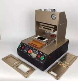 Wholesale Latest Automatic Frame Laminating Machine Built in air pump for iPhone S S PLUS Middle Bezel Frame Laminator