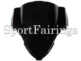 Wholesale ABS Double Bubble Tinted Black Windshield Windscreen For Suzuki Hayabusa GSX1300R Motorcycles