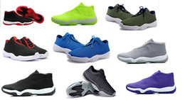 Wholesale Hot China JoRdan Shoes Future Low Black Men Basketball Shoes New China JoRdan Shoes Future Red Dark Grey and Volt Cheap Air Sports Sneakers