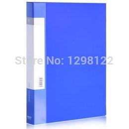 Wholesale ABA series A4 single page brochure blue dress freeshipping