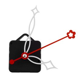 Relojes de cuarzo piezas en venta-Nuevo Mecanismo Creativo Blanco y Rojo Manos Movimiento Mecanismo Movimiento Reparación de piezas Reemplazando DIY Silencioso Silencioso