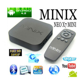 Wholesale 2016 Newest Minix X7 android tv box television consoles