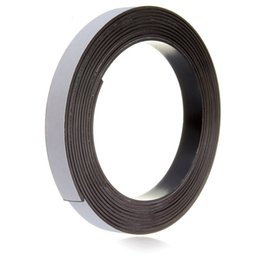 Wholesale Hot m Self Adhesive Rubber Magnetic Tape Magnet Strip mm Wide x mm For Shopping Malls Office Home School Learning