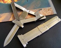 Wholesale GERMAN PARATROOPER KNIFE folding knife microtech A07 A161 A162 benchmade BM42 BM47 BM46 BM49 knives freeshipping