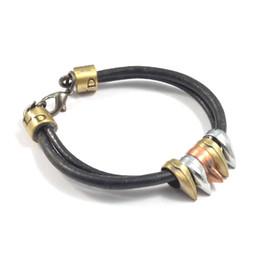 Top Seller Men Bracelets & Bangles Casual Wear Men Bracelets Leather Stainless Steel Wristband Bangles Party