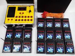 Nueva electrónica de china producto en Línea-2015 Nuevos Productos años 72 Cues DHL EMS envío gratuito fuegos artificiales sistema Firing Radio ignición control remoto pantalla de alambre electrónica