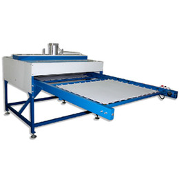 Wholesale Double Layer Pneumatic Heat Press Machine Automatic sublimation transfer printing machine Oil pressure sublimation transfer machine