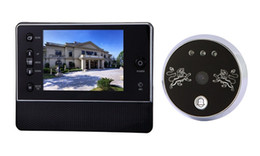 Wholesale Door Viewer inch home Digital LCD Screen Door Peephole Viewer Phone System Doorbell Access Control