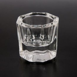 Wholesale Nail liquid crystal cup crystal cup anise Acrylic glass can be mounted liquid crystal Resurrection of water
